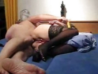 mature amateur wife toys her ass and acquires