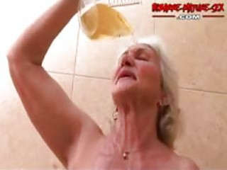 granny likes to receive drilled by fellows