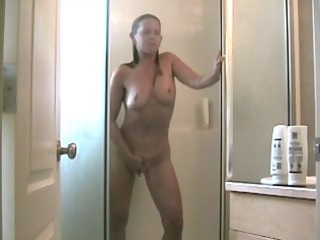 mother id like to fuck masturbating in the shower