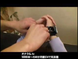japanese wife in a bdsm episode receives fingered