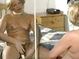 hairy mature slow tease and fake penis play