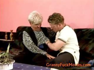 granny enticed a legal age teenager boy