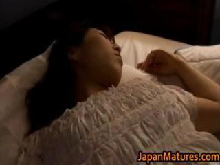 aged japanese chick acquires fingered part11