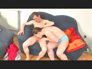 chubby german housewife gets screwed by her