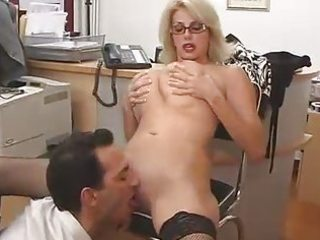 large titted mom with her boss...f81