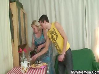 chunky housewife steals her daughters boyfriend
