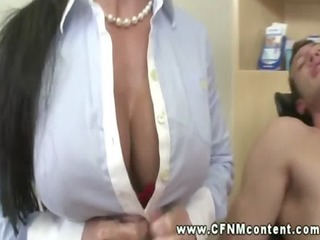 slutty dentist and nurse suck and jack cock