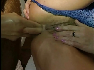 mum loves cock, fist in a-hole &; slit spunked