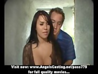 amazing latin chick mother i does 106 in car and