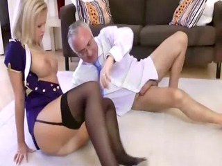 sexually excited nylons amateur golden-haired