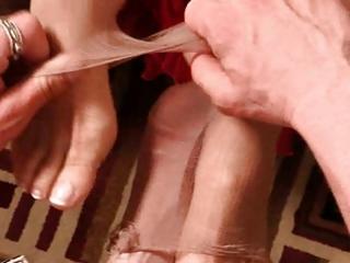 older footjob film 9