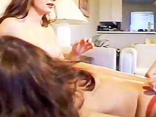 tabithas lesbian masturbation party - scene 3
