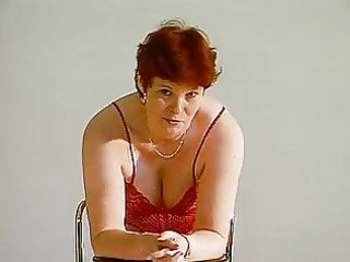 older german lady shows off movie