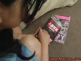 sexually excited japanese mature chicks engulfing