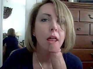 cum in mouth at concupiscent wife