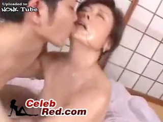 amazed japanese mature woman attacked and screwed
