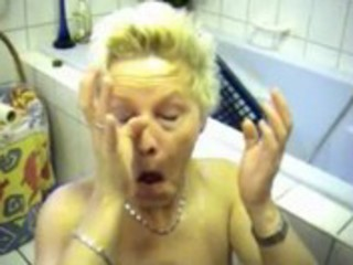 sexually excited german wife - bathrom fuck
