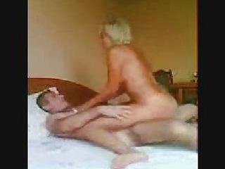 blonde wife slamming her twat into her mans