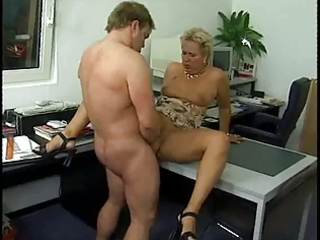 german aged office anal sex