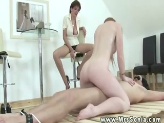 mature masturbating watching ally ride sub