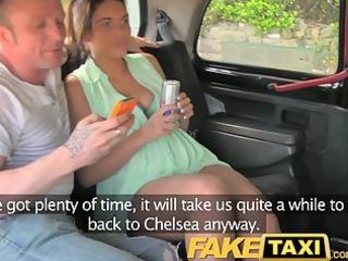 faketaxi joy time pair in backseat taxi threesome