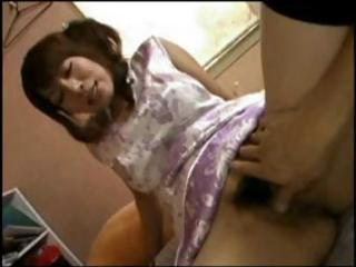 busty, hirsute japanese mother i receives knob to