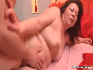 ramrod loving thick mature wife from japan