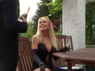 unknown golden-haired mature mother fucked in