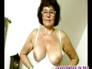 granny in glasses dildoes part1