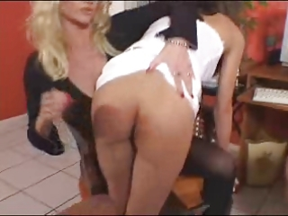 mom spanks and takes rt of 9 naughty daughters 2