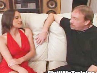 voyeur spouse sends wife to slut training