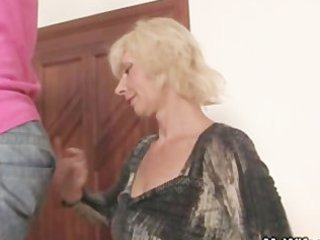 my blond mother in law seduces me into sex