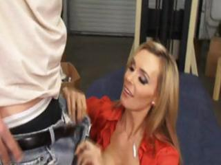 constricted golden-haired mother i office fuck