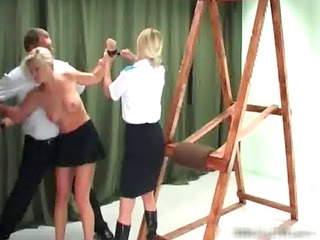 hawt golden-haired mother i acquires bound and