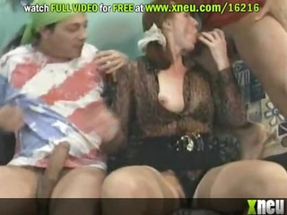 perverted aged whores receive anal screwed and