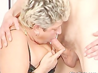 chubby aged whore in nylons