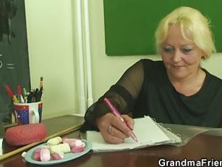 pupils group-sex lustful mature teacher