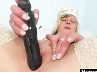immodest nurse mother i nada bonks herself with