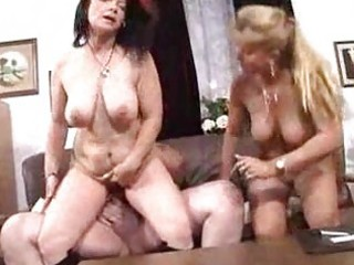 busty matures sharing fat stud