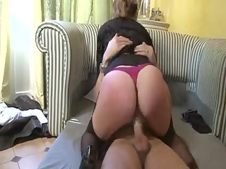 delicious large titted aged gets drilled in the