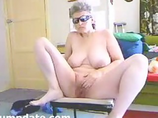 busty wife spreads her legs and masturbates