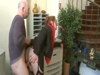 mother id like to fuck redhead in business suit