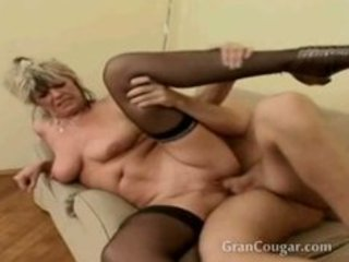 old granny acquires pussy drilled whilst her