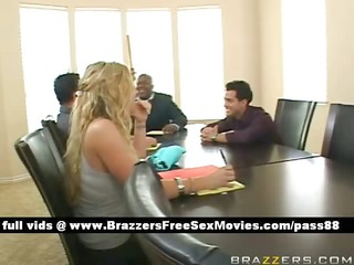 breasty blonde chick at a encounter