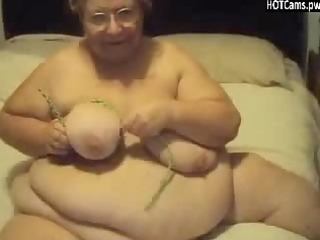 big beautiful woman granny web camera