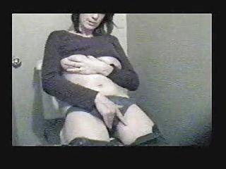 my horny mum cught by hidden webcam masturbating