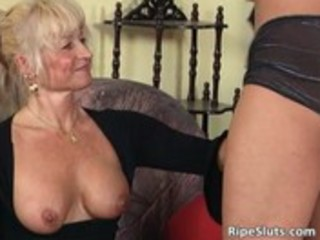 ultra blonde mature chick can younger