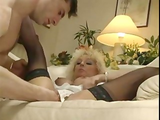 blond acquires cunt licked and fisted hard in