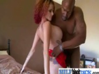 sexy milfs fucking giant darksome jocks vid-107