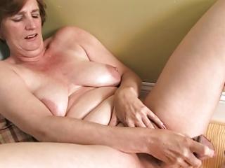 ray lynn older fake penis masturbation